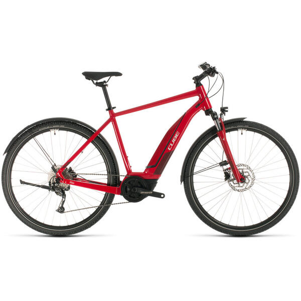 Bicicleta BICICLETA CUBE NATURE HYBRID ONE 500 ALLROAD Red Red 2020