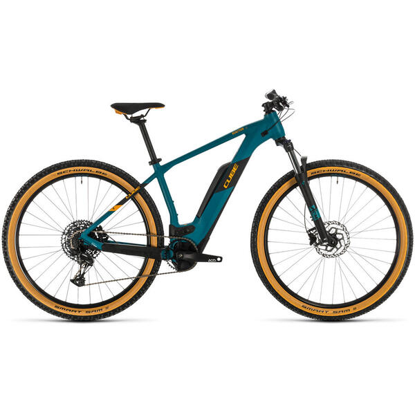 Bicicleta BICICLETA CUBE REACTION HYBRID PRO 500 Pinetree Orange 2020