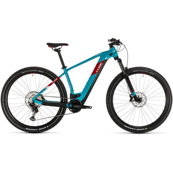 Bicicleta BICICLETA CUBE REACTION HYBRID EXC 500 29 Petrol Red 2020