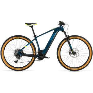 Bicicleta BICICLETA CUBE REACTION HYBRID SL 625 29 Blue Yellow 2020
