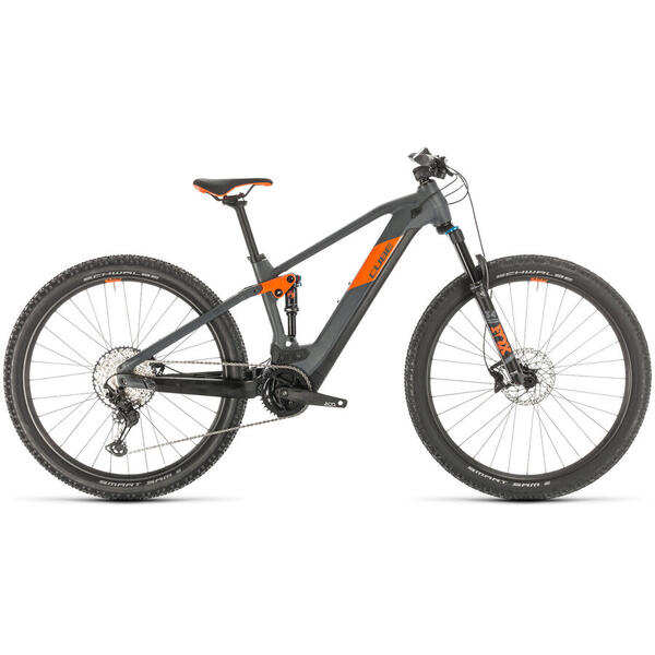 Bicicleta BICICLETA CUBE STEREO HYBRID 120 RACE 500 29 Grey Orange 2020