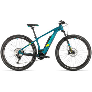 BICICLETA CUBE ACCESS HYBRID RACE 500 Pinetree Lime 2020