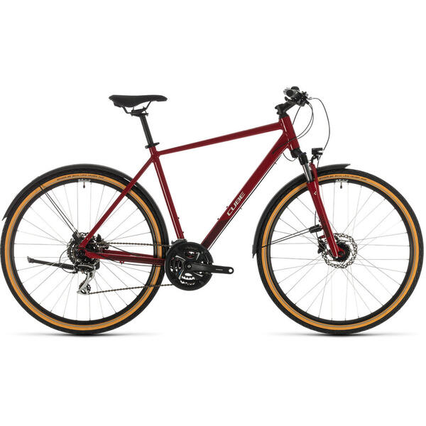 Bicicleta BICICLETA CUBE NATURE ALLROAD Red Grey 2020