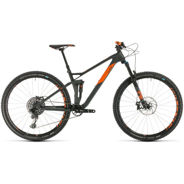 Bicicleta BICICLETA CUBE STEREO 120 HPC TM 29 Grey Orange 2020