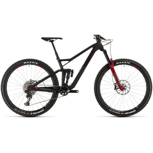 Bicicleta BICICLETA CUBE STEREO 150 C:68 SLT 29 Carbon Red 2020