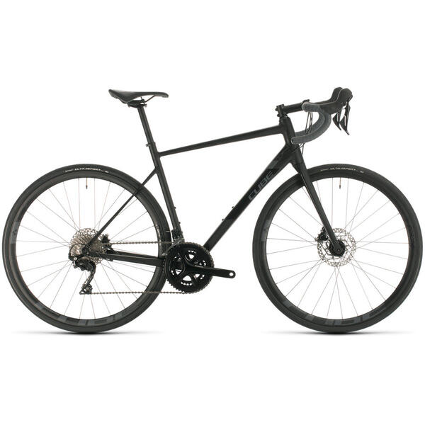 Bicicleta BICICLETA CUBE ATTAIN SL Black Grey 2020