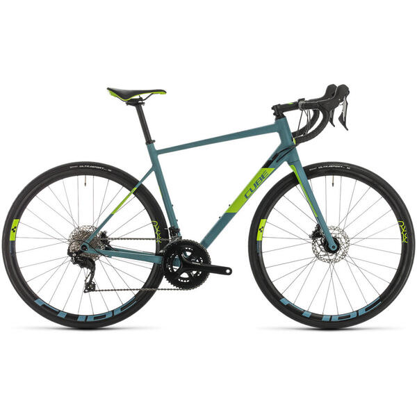 Bicicleta BICICLETA CUBE ATTAIN SL Bluegrey Green 2020
