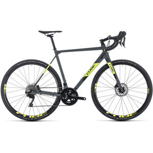 Bicicleta BICICLETA CUBE CROSS RACE PRO Grey Flashyellow 2020