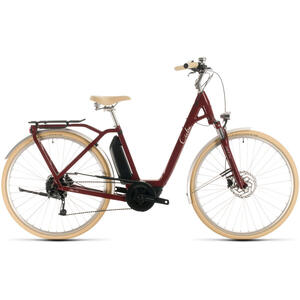 Bicicleta BICICLETA CUBE ELLA RIDE HYBRID 400 EASY ENTRY Red White 2020