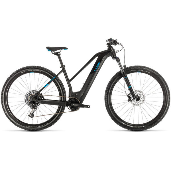 Bicicleta BICICLETA CUBE REACTION HYBRID EX 625 29 TRAPEZE Black Blue 2020