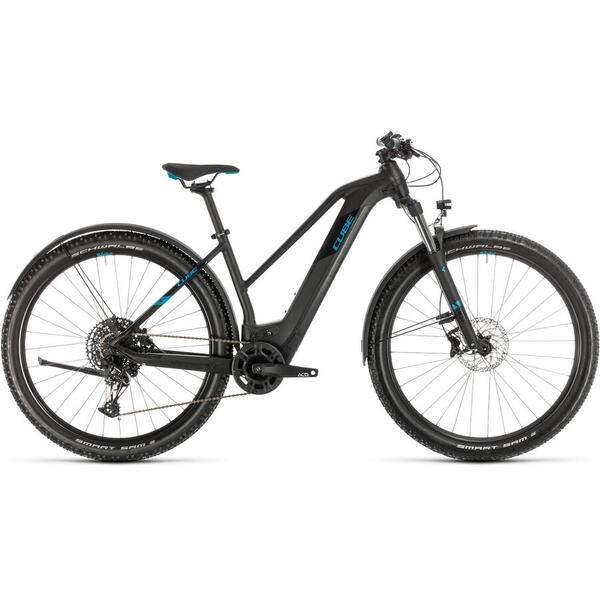 Bicicleta BICICLETA CUBE REACTION HYBRID EX 625 ALLROAD 29 TRAPEZE Black Blue 2020