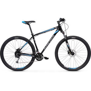 Bicicleta Kross Hexagon 7.0 29 S black-graphite-blue-glossy 2020
