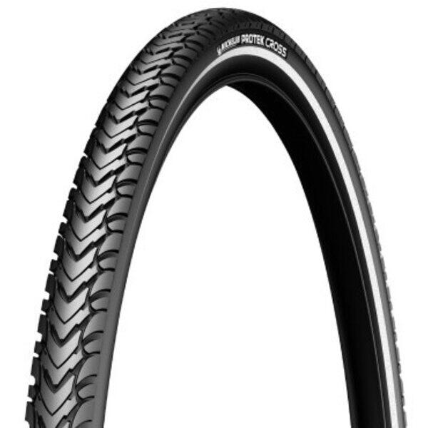 Cauciuc ANVELOPA - MICHELIN - PROTEK CROSS, 622-42 (700-40C), 1mm anti punkture
